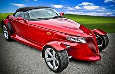 2001 Plymouth Prowler    2001 Plymouth Prowler - light HDR treatment