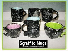Mrs. Morin's Art Room: Sgraffito