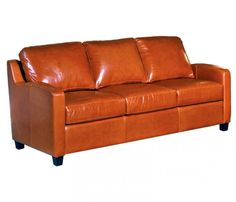 The Capriani Leather Sofa Collection