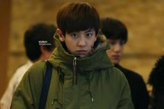 Chanyeol in airport
