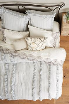 Tiered Ruffle Duvet #anthroegistry