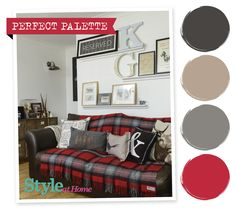 Perfect Palette - for more decorating ideas go to housetohome.co.uk/styleathome