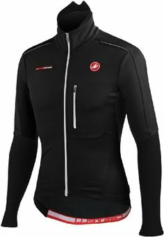 Castelli Trasparente Due Wind Long Sleeve Jersey Black, L - Men's - http://ridingjerseys.com/castelli-trasparente-due-wind-long-sleeve-jersey-black-l-mens/