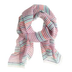 Loving this lightweight scarf from J.Crew.