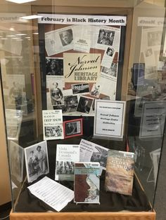 February is Black History Month. Come to the Centennial library and have a look at our Norval Johnson Heritage Centre Collection. Heritage Center, Local History, Black History Month, Centre, February, Freedom, Gallery Wall, Public, Frame