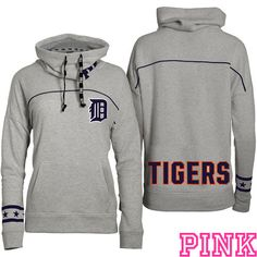 Louis Cardinals Victoria's Secret PINK® Cowl Neck Pullover Hoodie - love this! Detroit Tigers Baseball, Giants Baseball, Detroit Sports, Stl Cardinals, St Louis Cardinals, Sporty Girls, San Francisco Giants, Sport Casual, Hoodies