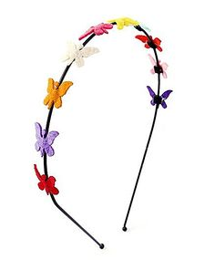 Chotee Tiny Butterfly Hairband - Multicolour http://www.firstcry.com/chotee/Chotee-Tiny-Butterfly-Hairband-Multicolour/734276/product-detail?q=as_chote