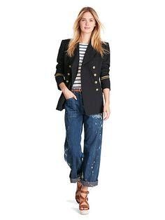 Cotton-Wool Admiral Jacket - Polo Ralph Lauren Blazers - RalphLauren.com