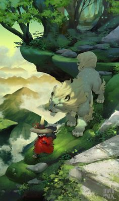 「雲上の道」 遠い東の地 獅子連れた旅人あり。                                                                                                                                                                                 もっと見る