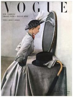 Vintage Vogue Cover Poster Print, 2 Sided Frameable Picture Cover Art Fashion, 12 x Item 1213 Vogue Vintage, Vintage Vogue Covers, Vogue Magazine Covers, Fashion Magazine Cover, Fashion Cover, Moda Retro, Moda Vintage, Retro Fashion, Vintage Fashion