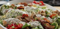 Cobb Salad with Blue Cheese Dressing By Ree Drummond