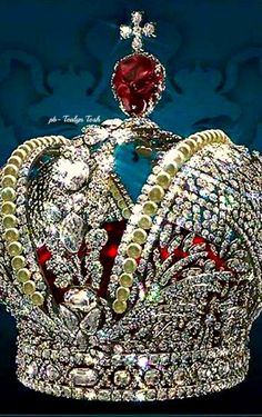 ❇Téa Tosh❇The Kremlin Armoury Treasures. Crown of the Russian Empire