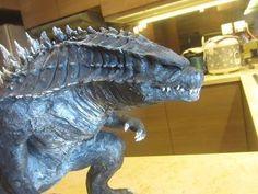 Awesome Godzilla 2014 Fan Art Sculpture