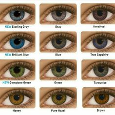f5e87694943 The Best Colored Contacts for Brown Eyes - Updated February 2019
