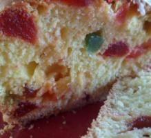 Recette - Cake aux fruits confits maison - Notée 4.2/5 par les internautes
