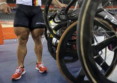 Chris Hoy's legs  #olympics