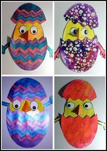 healthy recipes for dinner with kids free Easter Activities, Preschool Crafts, Diy Crafts For Kids, Art For Kids, Spring Art, Spring Crafts, Easter Arts And Crafts, Avril, Voici