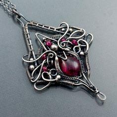 Ruby+Necklace+July+Birthstone+Jewelry+Kayla+by+sarahndippity,+$275.00