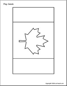 Geography for Kids: FREE printable Canada Flag Canada For Kids, All About Canada, Geography Of Canada, Geography For Kids, Homeschool Worksheets, Preschool Printables, Homeschooling, Map Activities, Preschool Activities