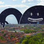 Cute Animation Imagines How Day Turns into Night.Here's a fun short from Lithuanian animator Ignas Meilunas who imagines nighttime as a giant character who moves around the world turning things from light to dark in Mr. Night Has a Day Off. (via Sploid)