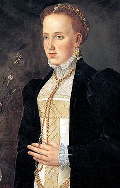 Philippine Welser, a member of the patrician Welser banking family, and the wife of Ferdinand II, Archduke of Austria