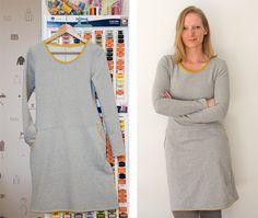 Sweatshirtkleid Frau Fannie