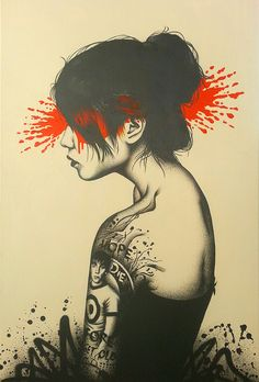 outsiderindustries: Moonchild by Fin DAC on Flickr.By Fin DAC via flickr