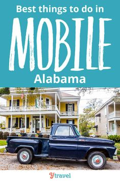 Looking for tips on things to do in Mobile Alabama with kids, or even if you are kid free? Here are tips on what to see & do, eat & drink, and where to stay Cool Places To Visit, Places To Travel, Places To Go, Stuff To Do, Things To Do, Mobile Alabama, Sweet Home Alabama, Travel Usa, Cruise Travel