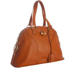 Yves Saint Laurent, Muse large tote, Whiskey