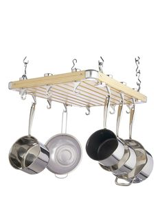 Kitchen Craft Masterclass Hanging Pot Rack – 51 x 60 cm With a generous 51 x 60 cm size, this Ceiling Rack is great for when cupboard…