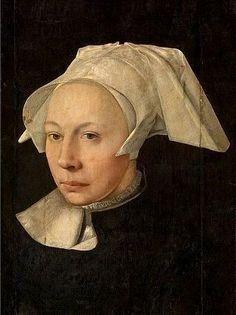 Jan van Scorel (Dutch,1495-1562) - Portrait of a Woman