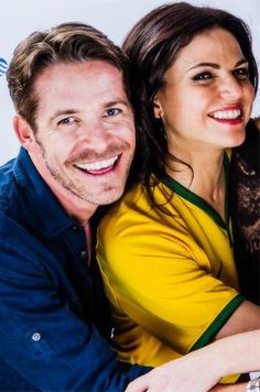 Awesome Lana and Sean being funny at the EverAfterCon in Rio de Janeiro Brazil Sunday 6-28-15