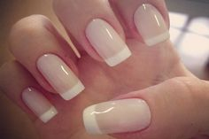 How to do a French Tip Manicure. I love doing my nails and have wanted to do a French tip manicure forever.