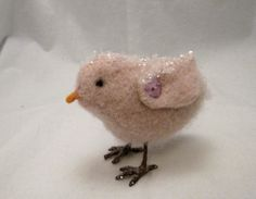 Chick ornament by lillieandnora on Etsy