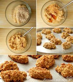 Cookies com dois ingredientes