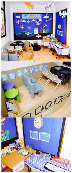 Airport role-play for Term Dramatic Play Themes, Dramatic Play Area, Dramatic Play Centers, Reggio Emilia, Airport Theme, Transportation Activities, Play Corner, Role Play Areas, Play Based Learning