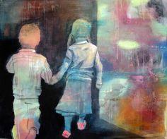 PÅ OPPDAGELSESFERDBY ANNE-BRITT KRISTIANSEN  #fineart #art #painting #kunst #maleri #bilde  www.annebrittkristiansen.com/anne-britt-kristiansen-kunst-2012
