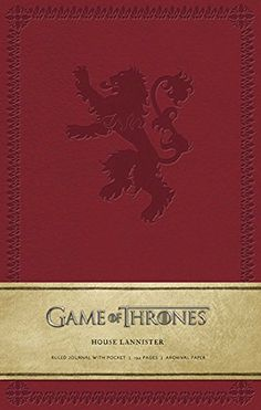 Game of Thrones: House Lannister Hardcover Ruled Journal (Insights Journals)