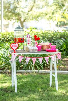 Valentine's Day Party Ideas! See more party ideas at CatchMyParty.com!
