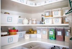 It's back! Inspiring finds Friday, where I find ideas from other blogs & websites about organising a particular area of your home, this week I found some great pantry organising solutions, I h...