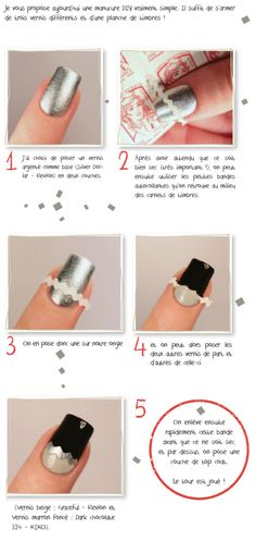 Chronique Nail Art DIY – Magazine Mode Inside – Paris Blaise Chronique Nail Art DIY – Magazine Mode Inside Hello everyone, Today, we have shown Paris Blaise Nail art DIY Tutorial- I know it's not in English but it's straight forward and very cute! Nail Art Diy, Diy Nails, Love Nails, Pretty Nails, Diy Nail Designs, Fabulous Nails, Creative Nails, Nail Stickers, Nail Tutorials