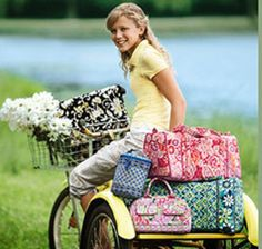 Vera Bradley luggage and cosmetic bags.  (select patterns and styles available)  Personally Yours | Austin, Texas  512.454.7534