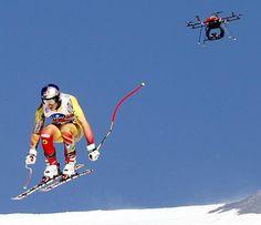 Drone sport journalism [ AutonomousAvionics.com ] #drone #avionics #technology