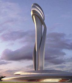 ATC Tower Istanbul - AECOM and Pininfarina, image courtesy AECOM and Pininfarina