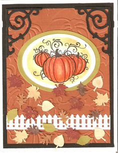 Fall card - Made by Patty Klundt