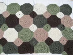 skipping stones crochet afghan by kaitlin