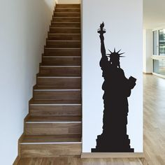 Statue of Liberty Wall Sticker Wall Art from Next Wall Stickers
