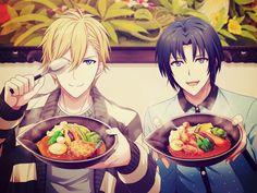 ご当地写真               IDOLiSH7 ご当地写真            Human Pictures, Saeran, Handsome Anime Guys, Sexy Guys, Cute Anime Boy, Anime Boys, Cute Cartoon, Anime Couples, Digital Illustration
