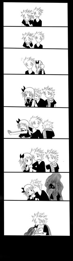 Nalu: Jealousy 1 by xmizuwaterx on DeviantArt
