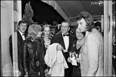 @JohnnySjh Festival de Cannes.. Avec Luchino Visconti & Nathalie Delon..@LHallyday